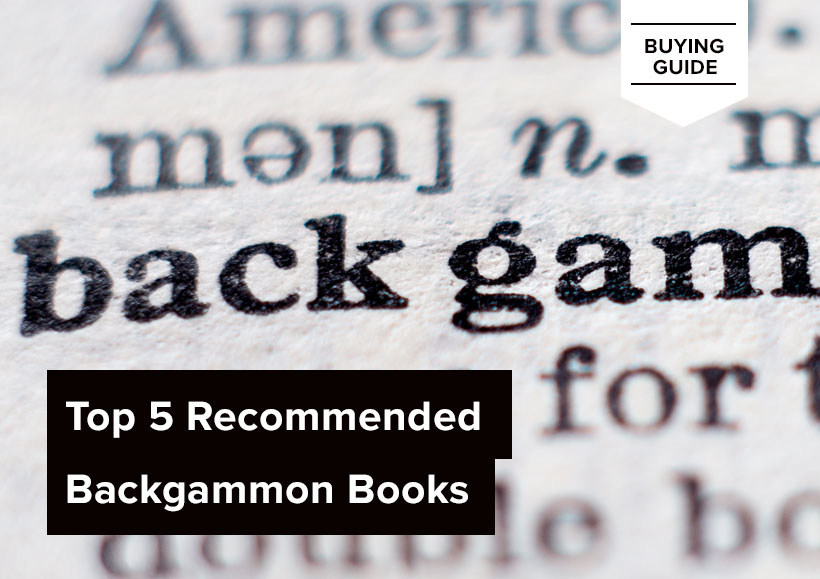 Top 5 Recommended Backgammon Books