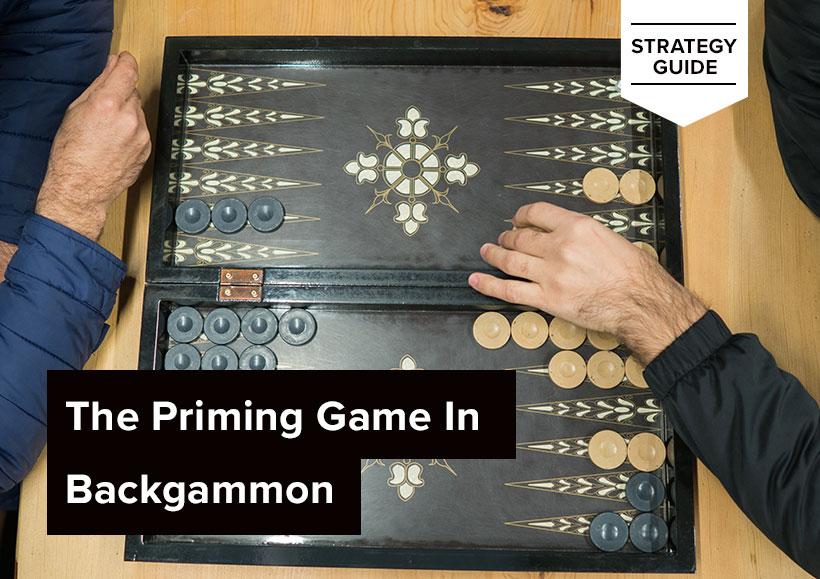 The Priming Game In Backgammon