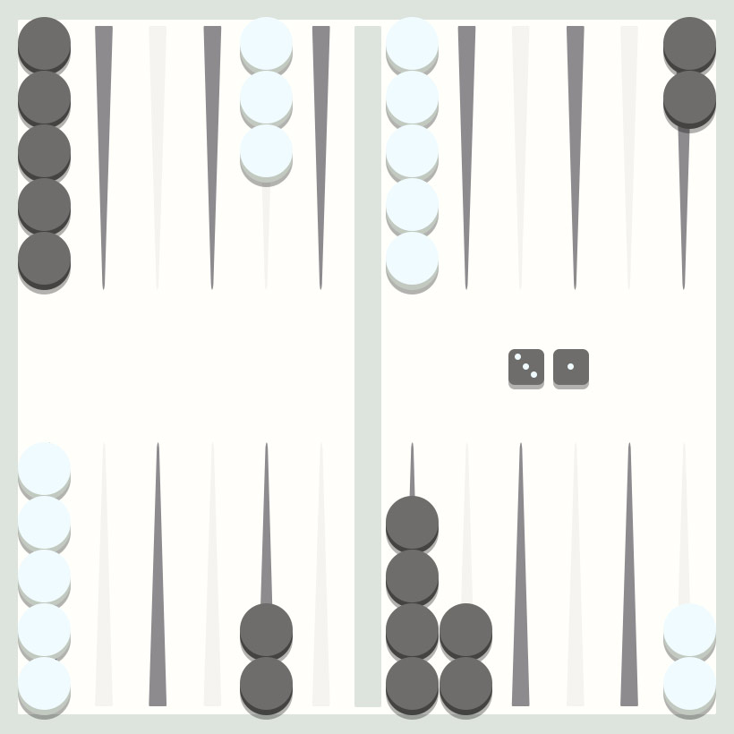 Backgammon strategy - making a point