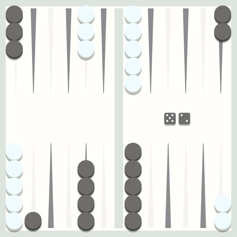 Backgammon strategy - Splitting a point